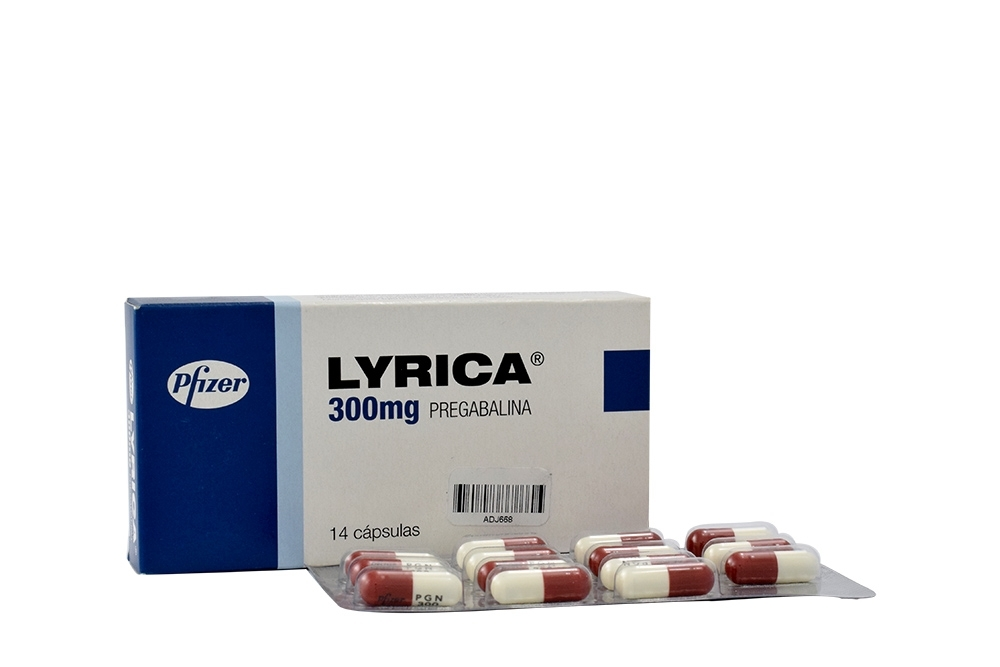 Lyrica 300 mg Caja Con 14 Cápsulas Rx4 RX1