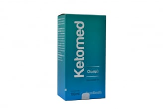 Ketomed 2% Shampoo Frasco Con 100 mL Rx