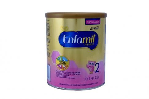 Enfamil Premium 2 En Polvo Tarro Con 400 g