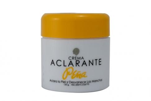 Crema Aclarante Peña Pote Con 120 g