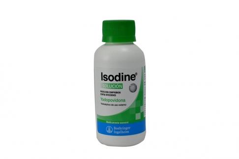 Isodine Solución  Frasco x 120 mL