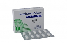 Trimebutina 200 mg Caja Con 30 Tabletas Rx