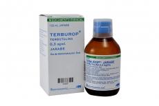 Terburop 0.3 mg Jarabe Frasco Con 120 mL Rx