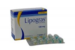 Lipogras 120 mg Caja Con 30 Cápsulas Duras Con Contenido Líquido Rx4