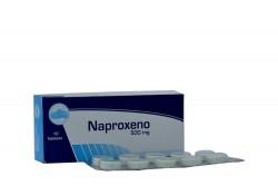 Naproxeno Coaspharma 500 mg Caja Con 10 Tabletas Rx