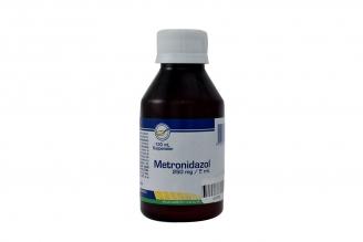 Metrodinazol 250 mg / 5 mL Suspensión Frasco Con 120 mL Rx