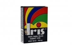 Iris Tinte Para Telas Caja Con Bolsa Con 9 g –  Tono Número 22 Gris