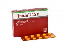 Tiroxin 112 mcg Caja Con 50 Tabletas Rx