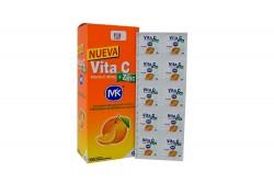 Vita C + Zinc 500 mg Caja x  100 Tabletas Masticables