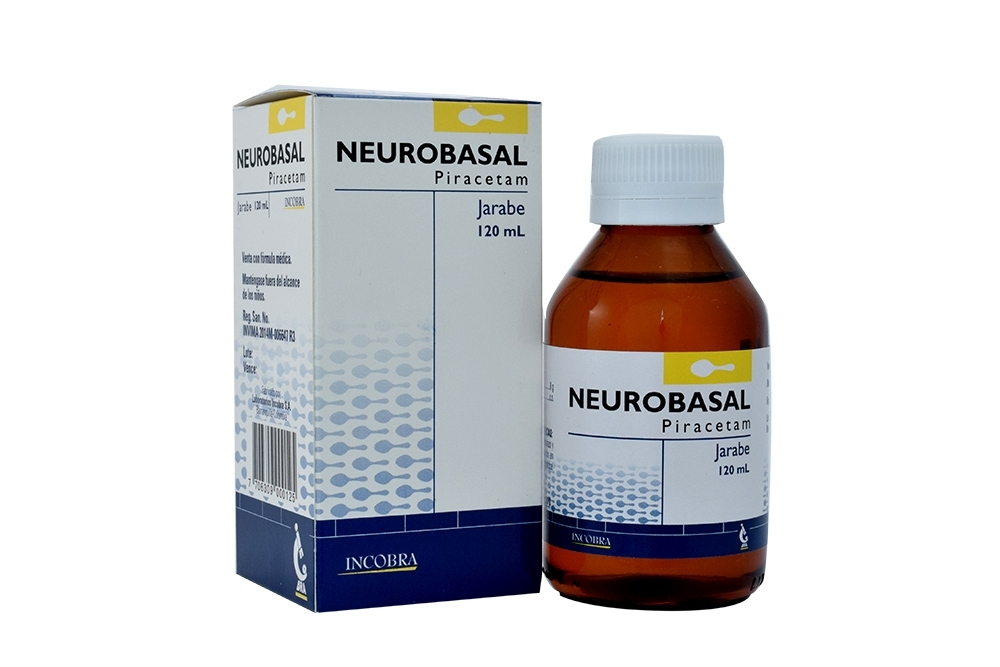 Neurobasal Jarabe Caja Con Frasco x 120 mL Rx