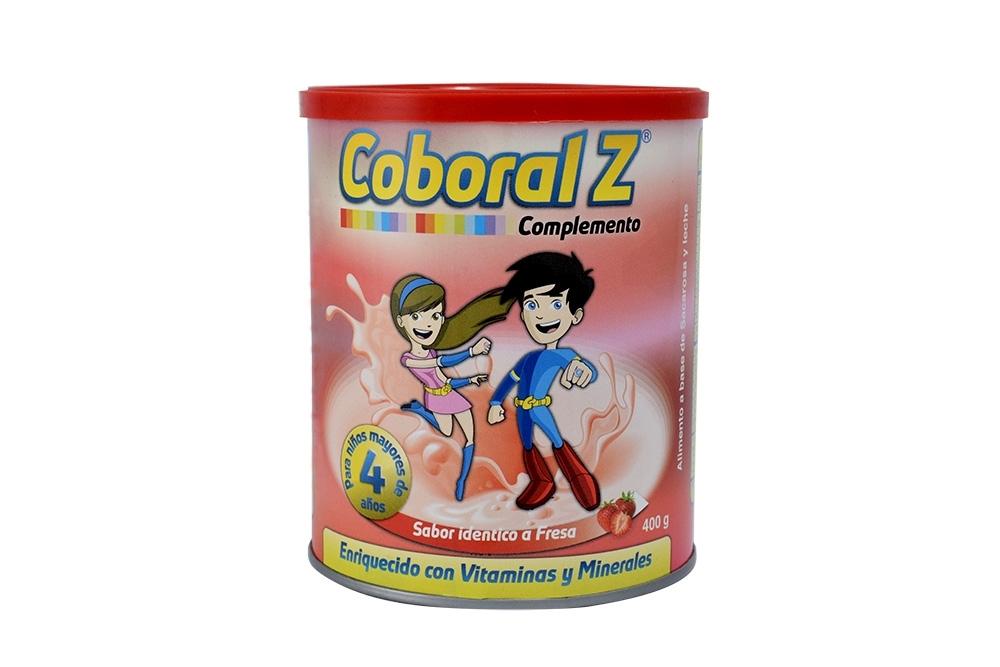 COBORAL Z COMPLEMENTO - TARRO X 400 G - CRECIMIENTO Y DESARROLLO