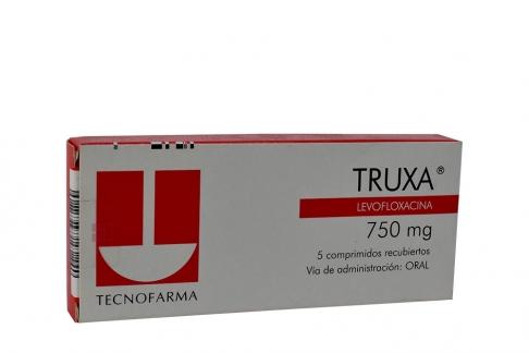 Truxa 750 mg Caja Con 5 Comprimidos Rx2
