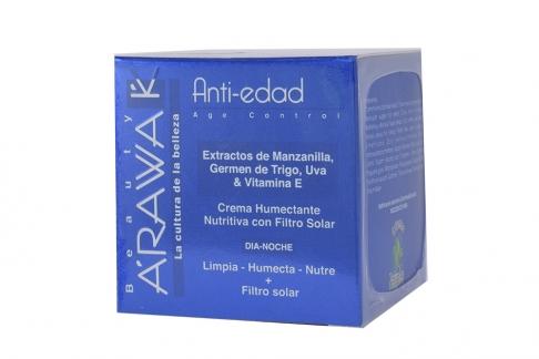 ARAWAK CREMA ANTI-EDAD - CAJA X 50 G - HUMECTANTE Y NUTRITIVA