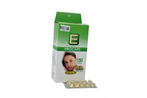 Vitamina E 400 U.I Caja Con Frasco Con 150 Cápsulas Blandas