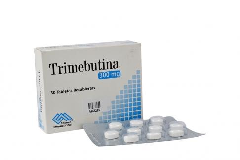 Trimebutina 300 mg Caja Con 30 Tabletas Recubiertas Rx