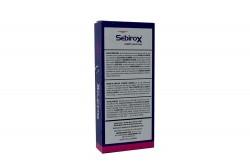 Sebirox Durazno Shampoo Frasco Con 120 mL