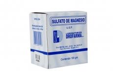 Sulfato De Magnesio Caja Con Bolsa Con 100 g