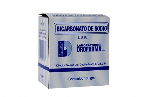 Bicarbonato De Sodio Caja Con Bolsa Con 100 g