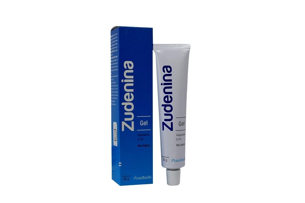 Zudeina Gel 0.1% Caja Con Tubo Con 30g Rx