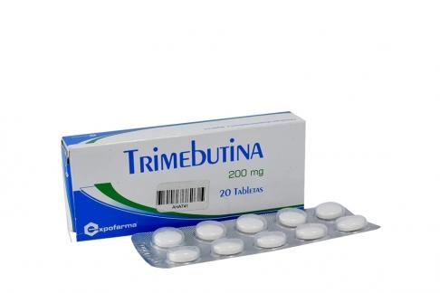 Trimebutina 200 mg Caja Con 20 Tabletas Rx