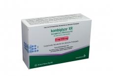 Kombiglyze XR 5 / 1000 mg Caja Con 28 Comprimidos Rx4