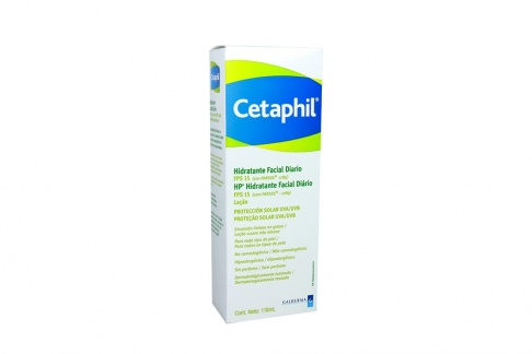 Cetaphil Hidratante Facial SPF 15 Loción Frasco Con 118 mL