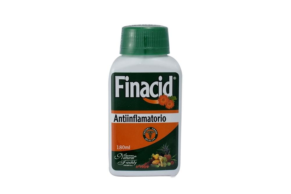 Finacid Solución De Caléndula Frasco Con 180 mL