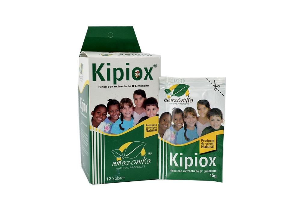 Rinse Kipiox Con Extracto De D´Limonene Caja Con 12 Sobres Con 15 g C/U