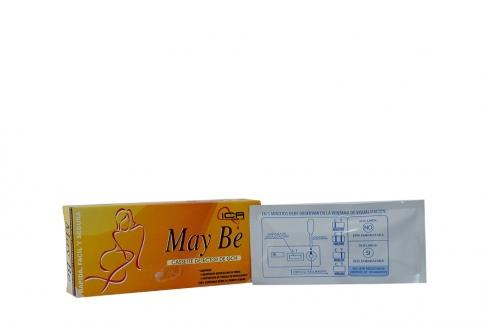 Prueba De Embarazo May Be Cassette Caja Con 1 Unidad