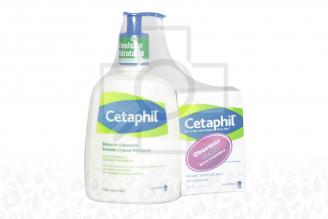 Cetaphil Crema Hidratante Frasco Con 473 mL y Caja Con Barra Limpiador