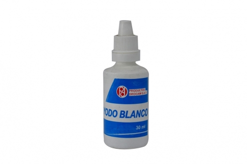 Yodo Blanco Drogam Frasco Con 30 mL