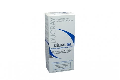 Shampoo Ducray Kélual DS Caja Con Frasco Con 100 mL