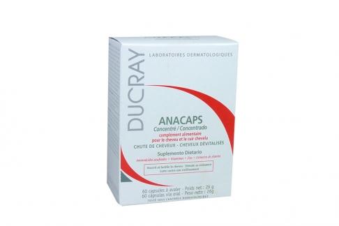 Anacaps 26 g Caja Con 60 Cápsulas