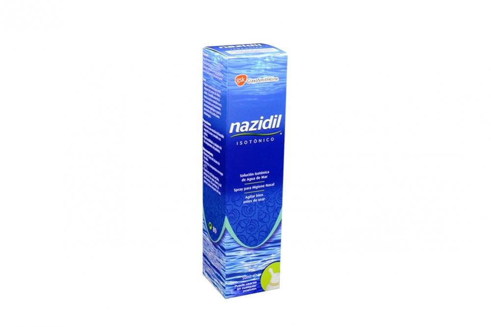 Nazidil Solución Caja Con Spray Con 50 mL