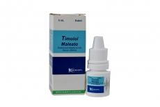Timolol Maleato 0.5% Caja Con Frasco x 5 mL RX