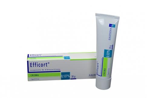 Efficort Crema Hidrocortisona  0,127% Caja Con Tubo X 30 g Rx