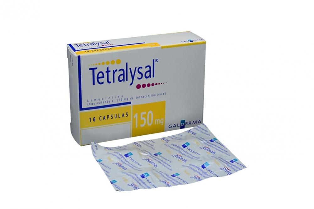 Tetralysal 150 mg Caja Con 16 Cápsulas Rx