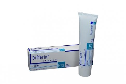 Differin Adapaleno 0,1% Crema x 30 g Rx