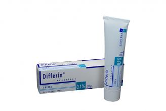 Differin Adapaleno 0,1% Crema Caja Con Tubo Con 30 g Rx