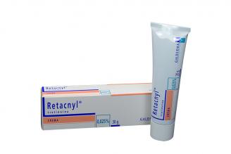 Retacnyl Crema 0.025 % Caja Con Tubo Con 30 g Rx