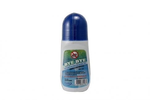 Repelente Bye Bye Roll-On Con 40 mL