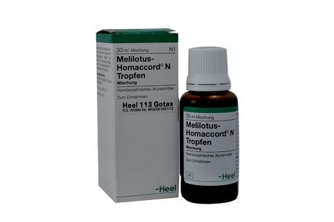 Melilotus – Homaccord N Tropfen Caja Con Frasco Con 30 mL Rx