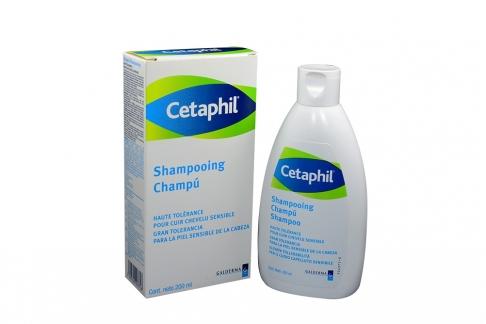 Cetaphil Shampoo Caja Con Frasco Con 200 mL - Champú