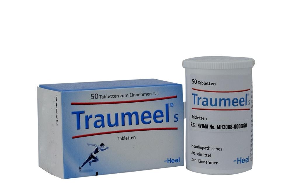 Traumeel Caja Con Frasco Con 50 Tabletas Rx