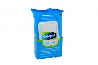 Toallitas Faciales Cetaphil Empaque Con 25 Unidades - Piel Sensible