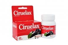 Ciruelax Caja Con Frasco Con 60 Comprimidos Recubiertos