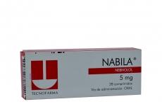 Nabila 5 mg Caja Con 28 Comprimidos Rx4