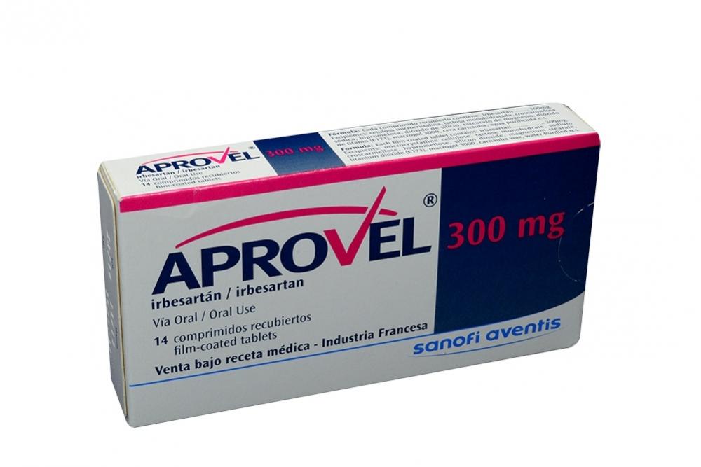 Aprovel 300 mg Caja Con 14 Comprimidos Rx Rx1
