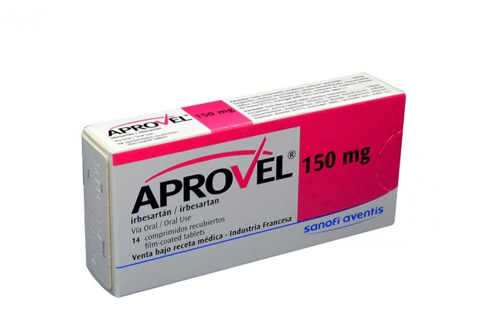 Aprovel 150 mg Caja Con 14 Comprimidos Rx Rx1