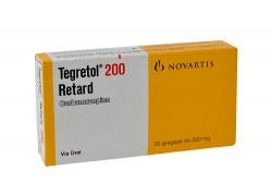Tegretol Retard 200 mg Caja Con 20 Grageas Rx4
